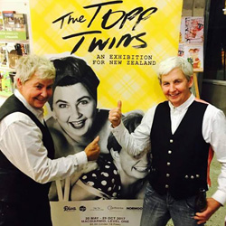 Topp Twins exhibition (2017)  [image: supplied]