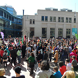 Marriage Equality march  [image: Gareth Watkins]