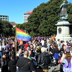 Rally for Marriage Equality  [image: Gareth Watkins]