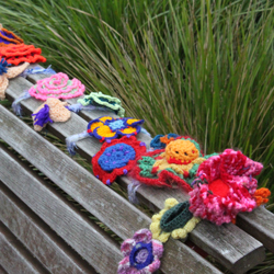 Yarn bombing  [image: Gareth Watkins]